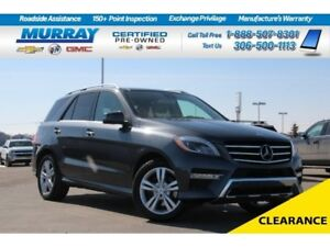 2014 Mercedes-Benz M-Class ML350 AWD*NAV SYSTEM,SUNROOF*