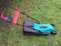 Bosch Lawnmower AND Black and Decker Strimmer THE PAIR FOR £35 - BARGAIN