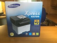 Samsung Xpress M2675fn Printer **Never Opened, Sealed Box**