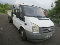 Ford Transit Tipper Late 2007 private plate included