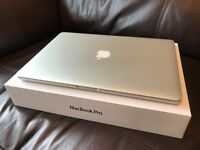 MacBook Pro Retina 15-inch, 2.3GHz i7 Quad Core, 16GB RAM, 512 SSD - AS NEW CONDITION