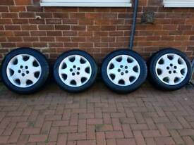 17inch LEXUS ALLOYS ALL AS NEW TYRES