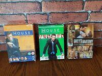 House and greys anatomy box sets