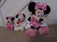Disney Plush Soft Toy Set