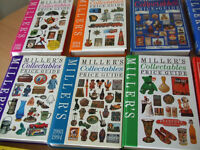 12 Millers Collectables Books Hard Back books.