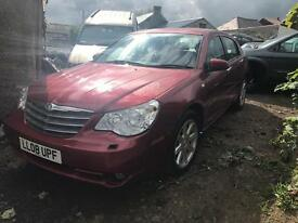 Chrysler Sebring 2.0crd 6 speed / Breaking all parts available
