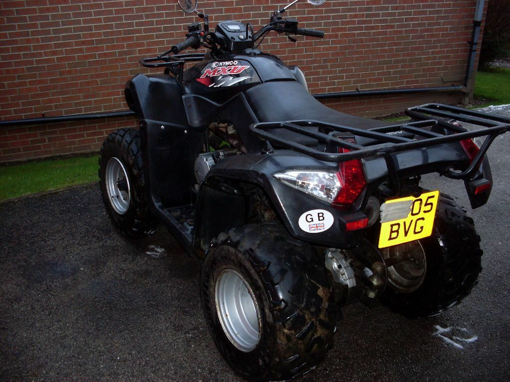 kymco mxu 250 quad bike 2005 in birstall west yorkshire gumtree. Black Bedroom Furniture Sets. Home Design Ideas