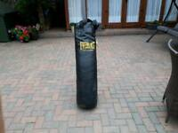 Boxing punch bag &bracket