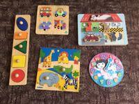 Kids Wooden puzzles