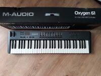 M Audio oxygen 61 V3 USB MIDI