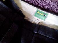 Bowls trousers grey Henselite 38 waist 31 leg