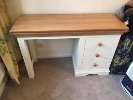 Country cottage oak desk