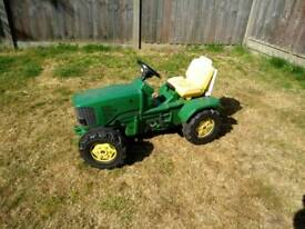 John Deere kids Pedal Tractor