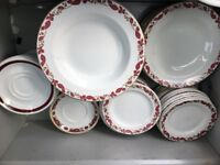 Quality catering plates and bowls and salvers