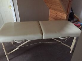 Massage/Beauty therapist bed for sale.