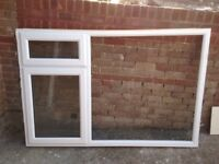 UPVC DOUBLE-WINDOW less than 1 yr old. Very good condition.