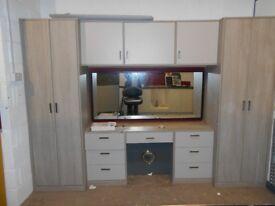 Fitted wardrobe unit Ex display