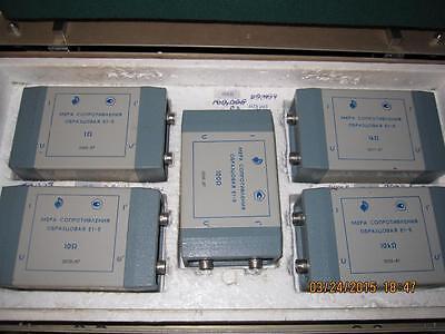 1-10-100-1000-1000 Ohm Resistance Standard Set Box Resistor E1-5 Boxed Set Of 5