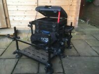 Preston Innovations On box 5 3d Fishing box seat With Tool Bar