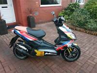 50CC MOPED - BAOTIAN FALCON 50R - LOW MILES - £500 ONO