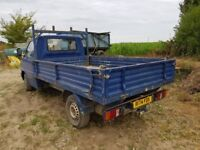 VW Transporter 1200 D LWB flat bed van, rare and incredibly useful work horse.