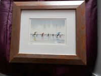 """Framed print of """"Not a nibble"""" by Peter Robinson"""