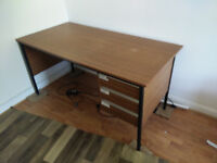Large 3 Draw Desk