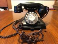 Vintage Pyramid Bakelite Telephone