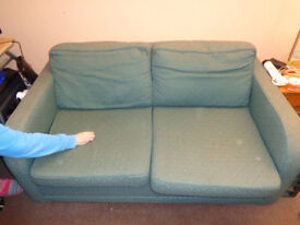 A FREE SOFA BED...SOILD DESIGN.. its a peice of furniture as well as a very good bed