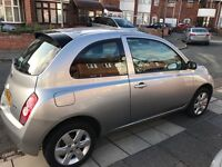 Silver Nissan Micra Late 2005 Lady Owner 1.2 Petrol