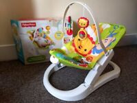 Fisher-Price baby bouncer in excellent condition