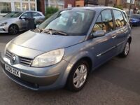 2005 RENAULT SCENIC 1.5 DCI DIESEL 89K MILE FSH NEW CAMBELT&TYRES like focus astra golf civic c4 308