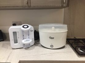 Tommee Tippee perfect prep machine and electric steriliser