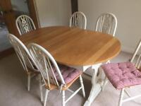 Kitchen Farmhouse Extending Table Table