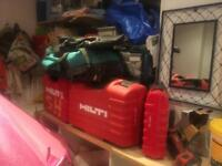 Various tool storage bags and boxs