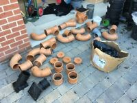 Drainage, Guttering, Building Materials, Extension - Joblot *CHEAP* £200.00 ONO