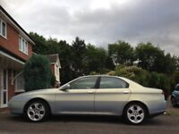 Alfa Romeo 166 Super Lusso, 2001, 3.0 V6, 6sp manual with multipoint LPG kit, MOT Nov 2018