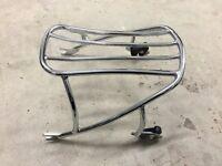 Harley Davidson Dyna Detachable Solo Rack - Chrome