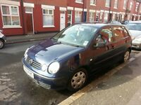 Volkswagen Polo 1.2 S Blue Vw Polo Drives well