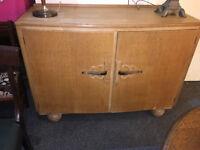 Delightful Art Deco Original Utility Sideboard Cabinet