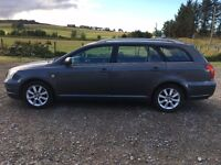 **toyota diesel avensis estate - full toyota service history - top spec - very fleet**