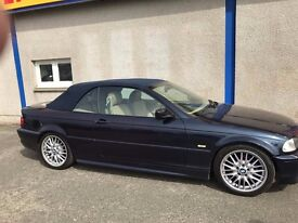 BMW 330 CI Sport Convertible AUTO, 1 year MOT, CD, Full leather, Stunning car
