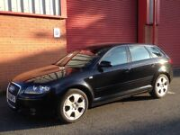 AUDI A3 ALLOY WHEELS AND LO PRO TYRES INC 2006 225 45 17 NMINT RIMS BARGAIN!