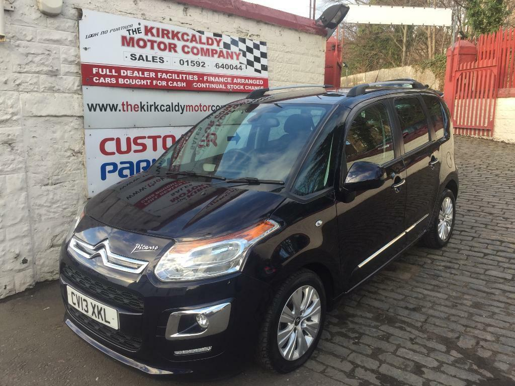 CITROEN C3 PICASSO 1.6 HDi 8V Exclusive 5dr (blue) 2013