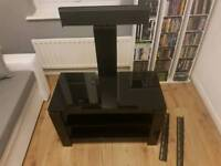 Victoria · Sonorous HG 836 Black Tv Stand With Built In Tv Bracket.