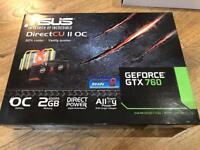 ASUS GeForce GTX 760 2GB Graphics Card