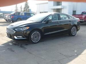 2017 Ford Fusion SE Black on Black, All Wheel Drive