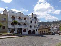 FOR SALE: HIGHLY POPULAR TOURIST HOSTEL IN OTAVALO, ECUADOR. SOUTH AMERICA