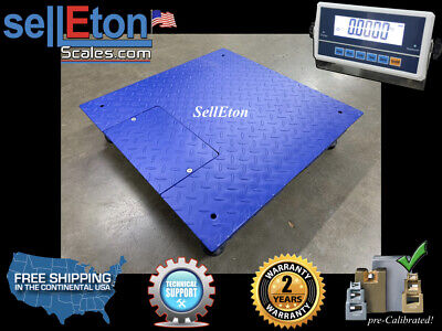 New Heavy Duty Floor Scale Industrial Warehouse 1000 Lbs Capacity 2 X 2 24