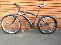 Original 3G NEWPORT FatBike Large 5 Speed Cruiser Dragster USA Bike, Bargain!